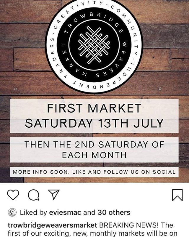 Feeling crazy proud to be part of this amazing new market! It's in LJ's home town and is exactly what Trowbridge needed and deserves. @trowbridgeweaversmarket #trowbridge we're coming for you! #cominghome #hometown #newera #eatlocal #eatfresh @wiltshiretimes #wiltshire #market #freshfood #cajunfood #buzzfeedfood #eatfresh #