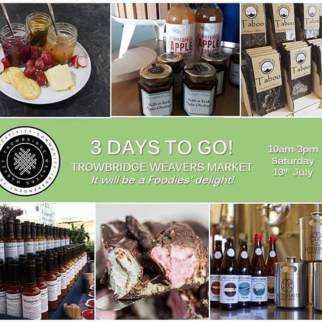 LJs are buzzing to be part of this new market in Trowbridge, Wiltshire. Ethos behind it is something to be admired and also supporting local independents! Try and get along this Saturday. Also a FREE family fun day by active Trowbridge @trowbridgeweaversmarket. 10-3pm #localmarket #independent #welovetrowbridge #trowbridge #wiltshire #foodies #family #fun #familydayout #FREE