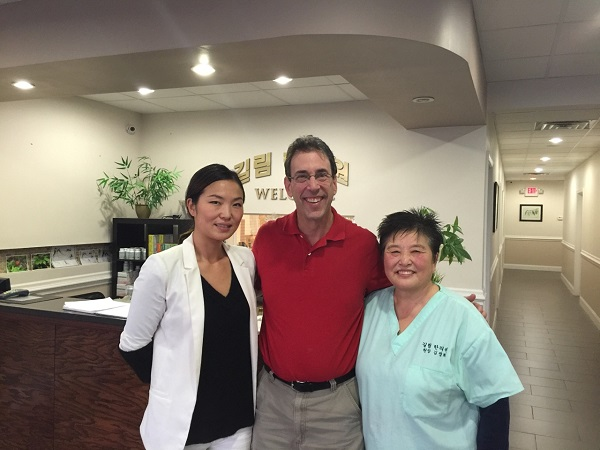 Clark Haword at JiLin Acupuncture