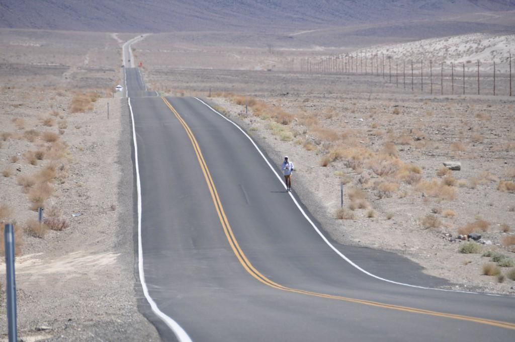 Gerald in Death Valley. Photo: D. Tabios
