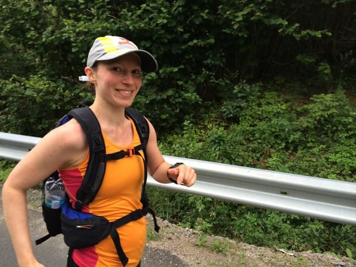 En nöjd ultralöpare på GAX100 den 12 juli. 28 timmar och 13 minuter på 100 miles (161 km) - 2:a plats.