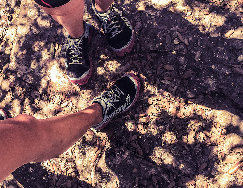 Our Inov-8 Race Ultra 270 were excellent on these trails!