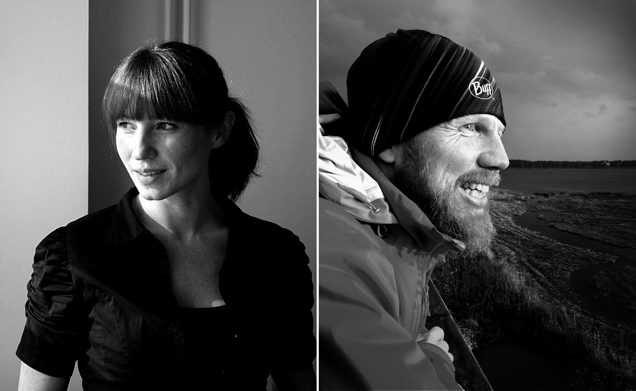 Ellen Westfelt och Johnny Hällneby, grundare av Pace on Earth