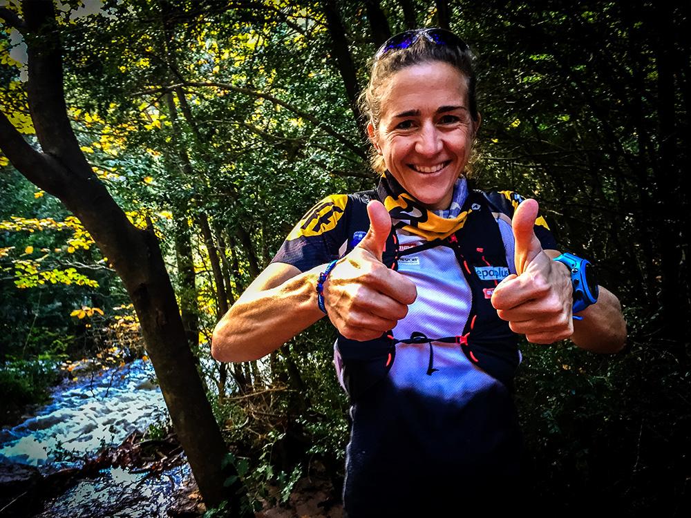 Världsstjärnan inom ultratrail-löpning Núria Picas som medverkar på lägret