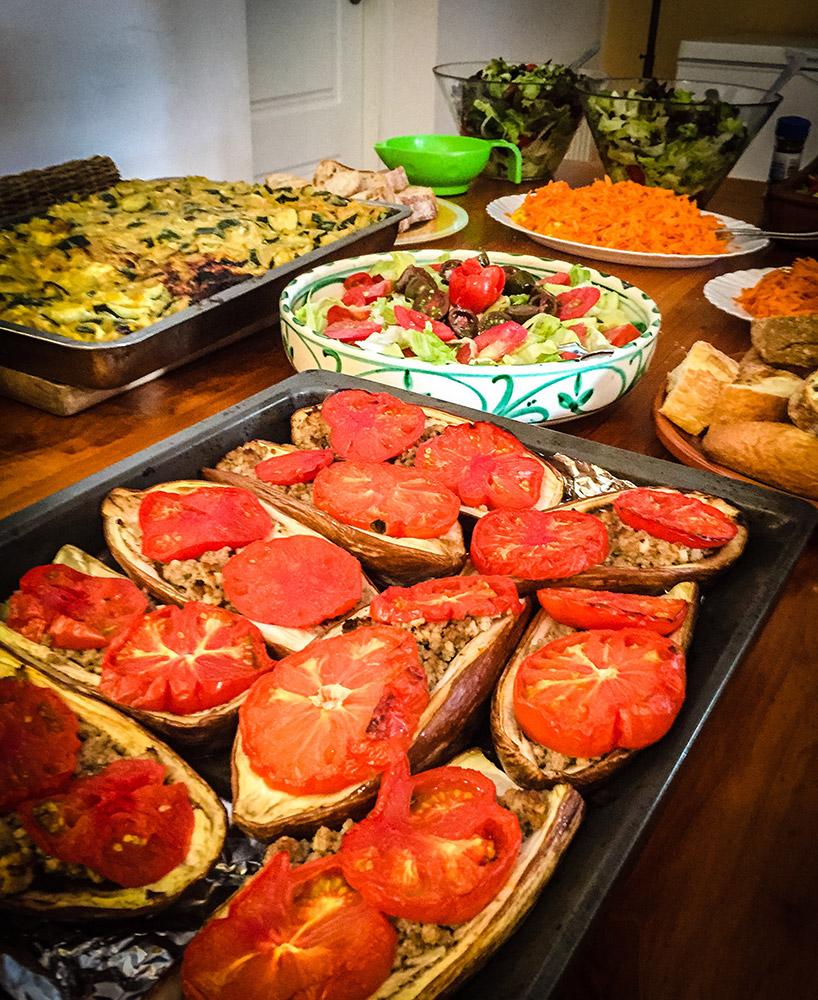 Att ha en egen kock som lagar maten blir så oslagbart bra! Vi älskar din mat Nancy <3