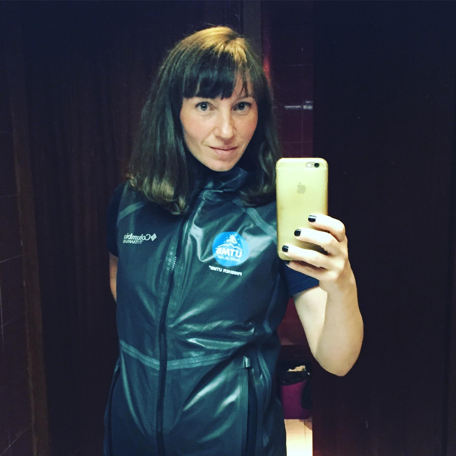 The UTMB finisher vest.