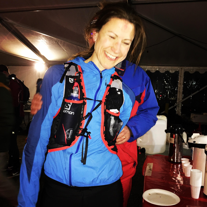 Johanna Bergman gick i mål som vinnare overall på 100 miles på rekordtiden 15:10!