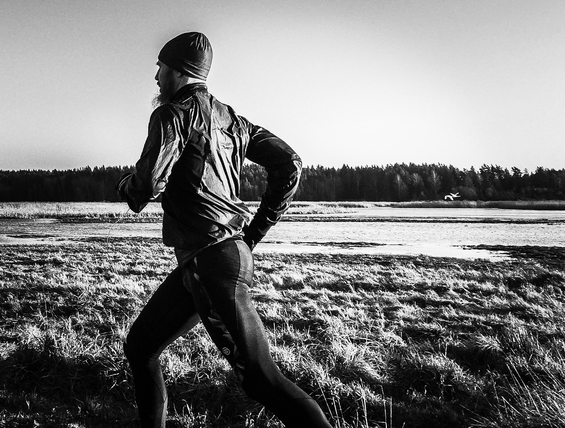 Öva gärna på ditt mantra när du är ute på dina vanliga träningsrundor.