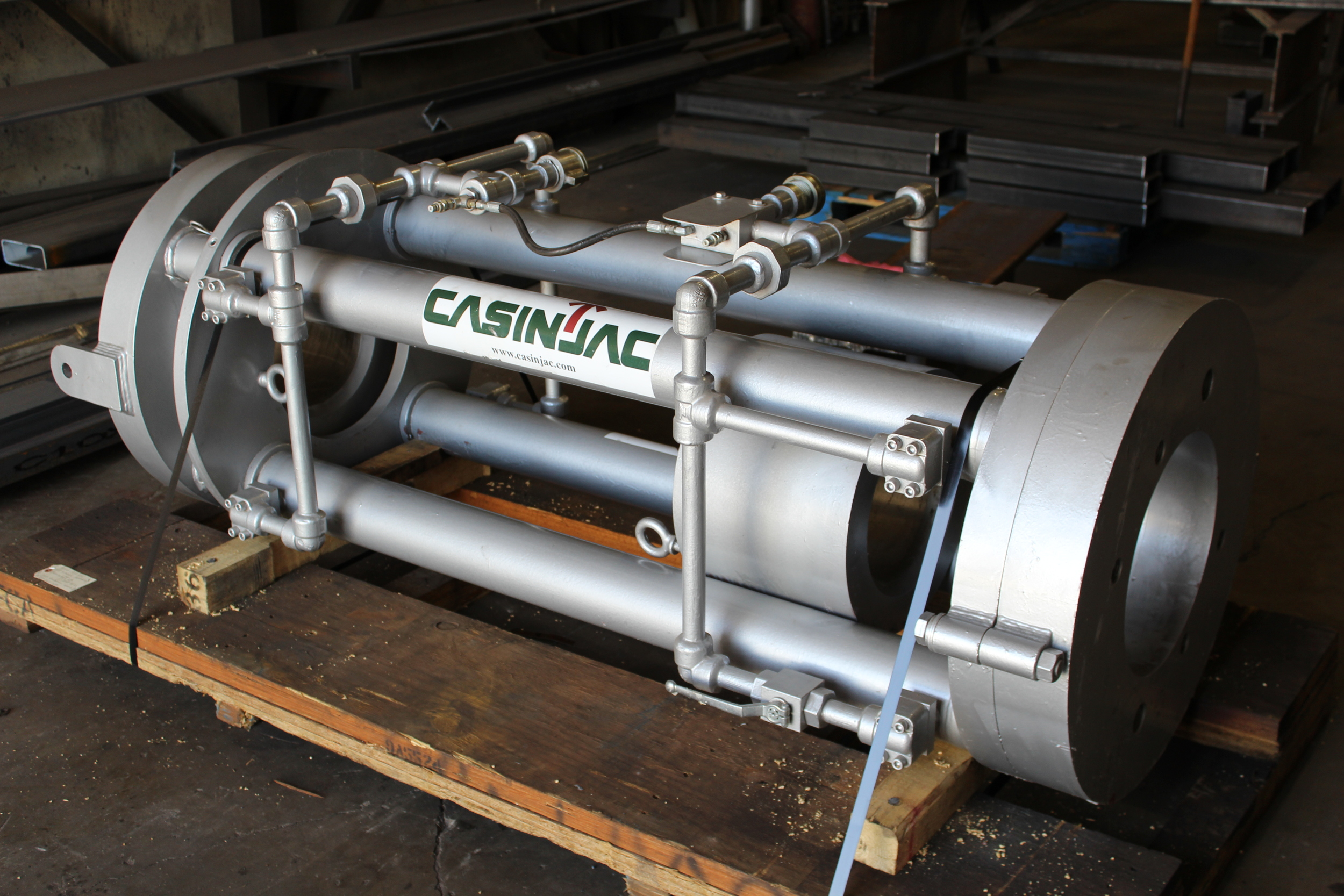Casinjac Model 125 casing jack ready for delivery.