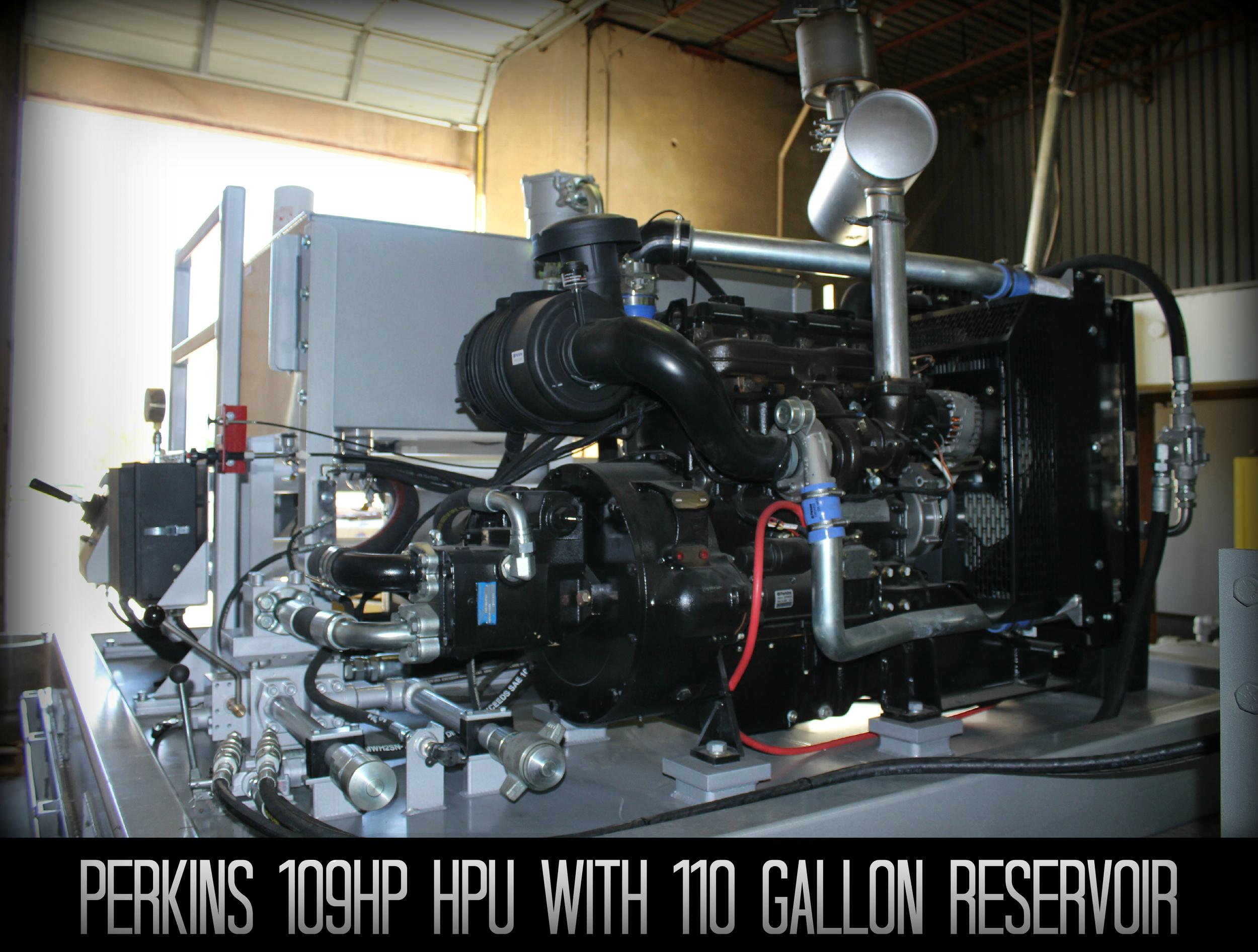 Perkins 109hp HPU
