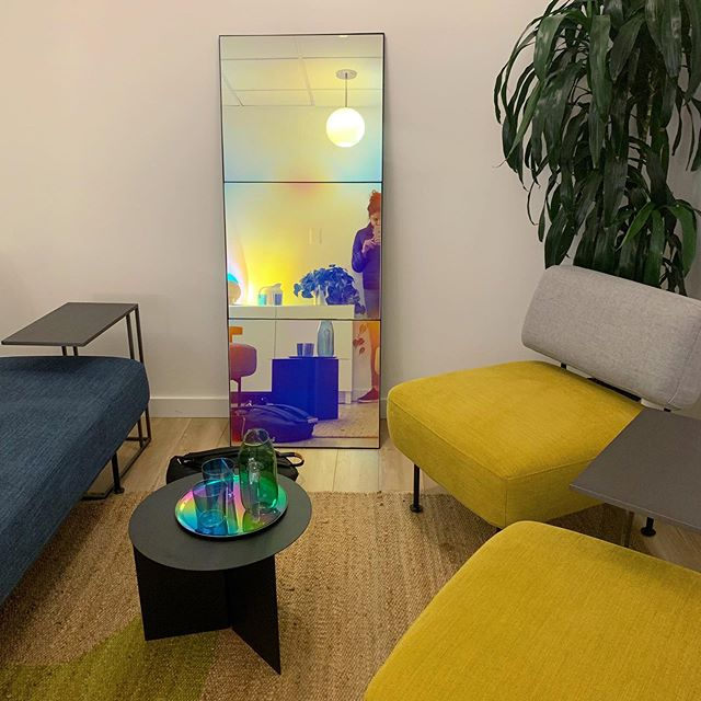 Before and after ✨ 6 months, 4 clinics opened (this one does psychedelic medicine treatment!) badly ready for home time!! See you in a week you crazy town . . . #thursdaythoughts #hometime #product #design #spacedesign #furniture #psychadelics #healthcaredesign #process