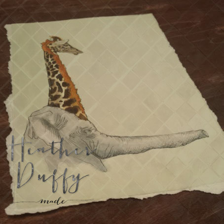 Heather Duffy Made Monogram L