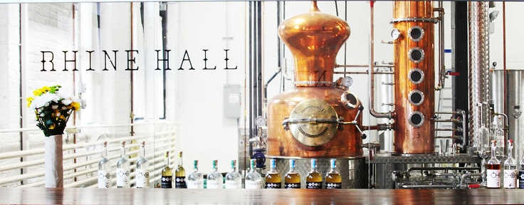 Rhine Hall Distillery, photo courtesy of Rhine Hall
