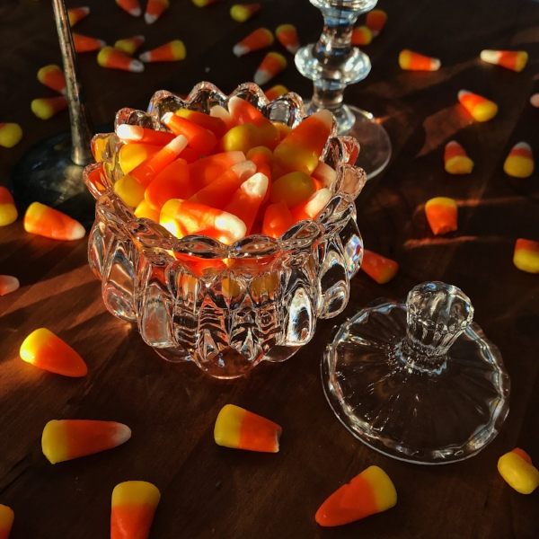 Candy Corn has never looked more elegant in this CB2 bowl