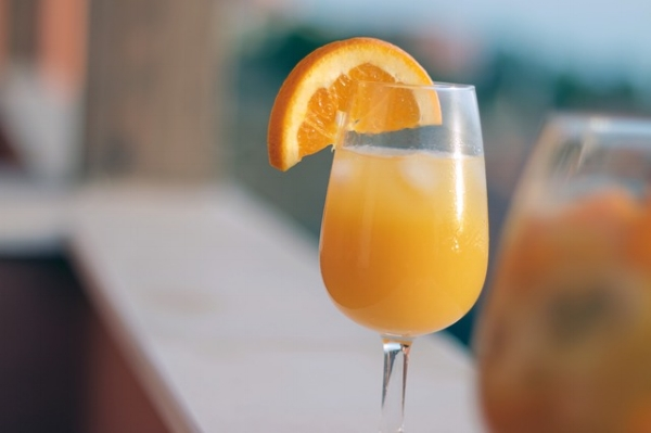 Did you know Alfred Hitchcock popularised the mimosa in the 1930s and told his buddies it was a hangover cure? Fake news, Hitchcock!