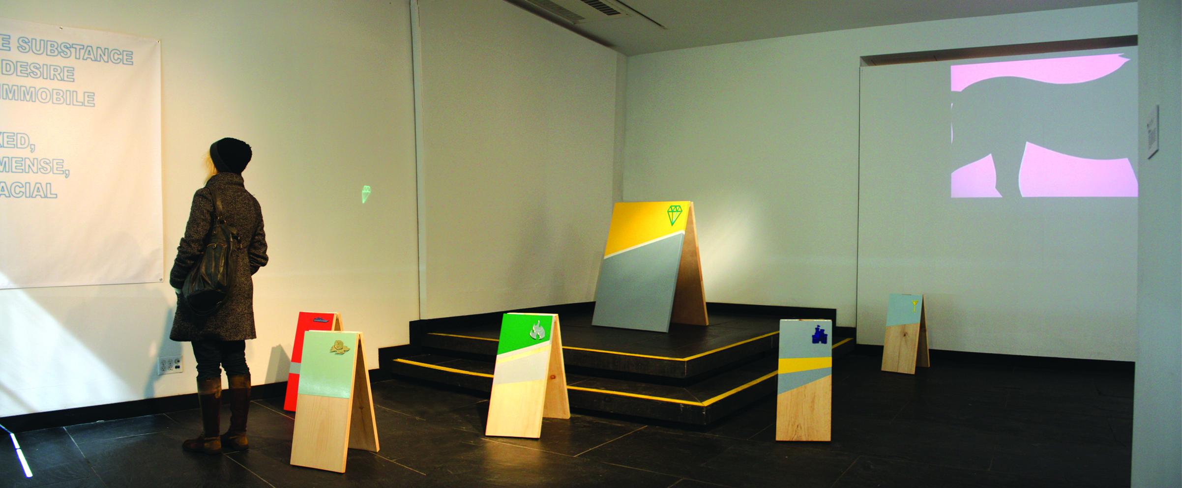 KRYPTONITE Installation Cervantes Institute, NYC 2011