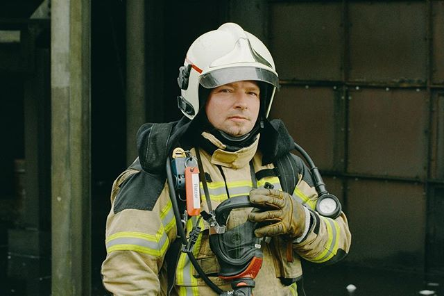 The Wired x NATO fire film is an Honoree of the 2018 Webby Awards! Here is a portrait of NATO Fire Fighter John Ratzer. Thanks again to the great team @marykalees @jaxharney @jesirodger @shufflemedia @wireduk @thewebbyawards
