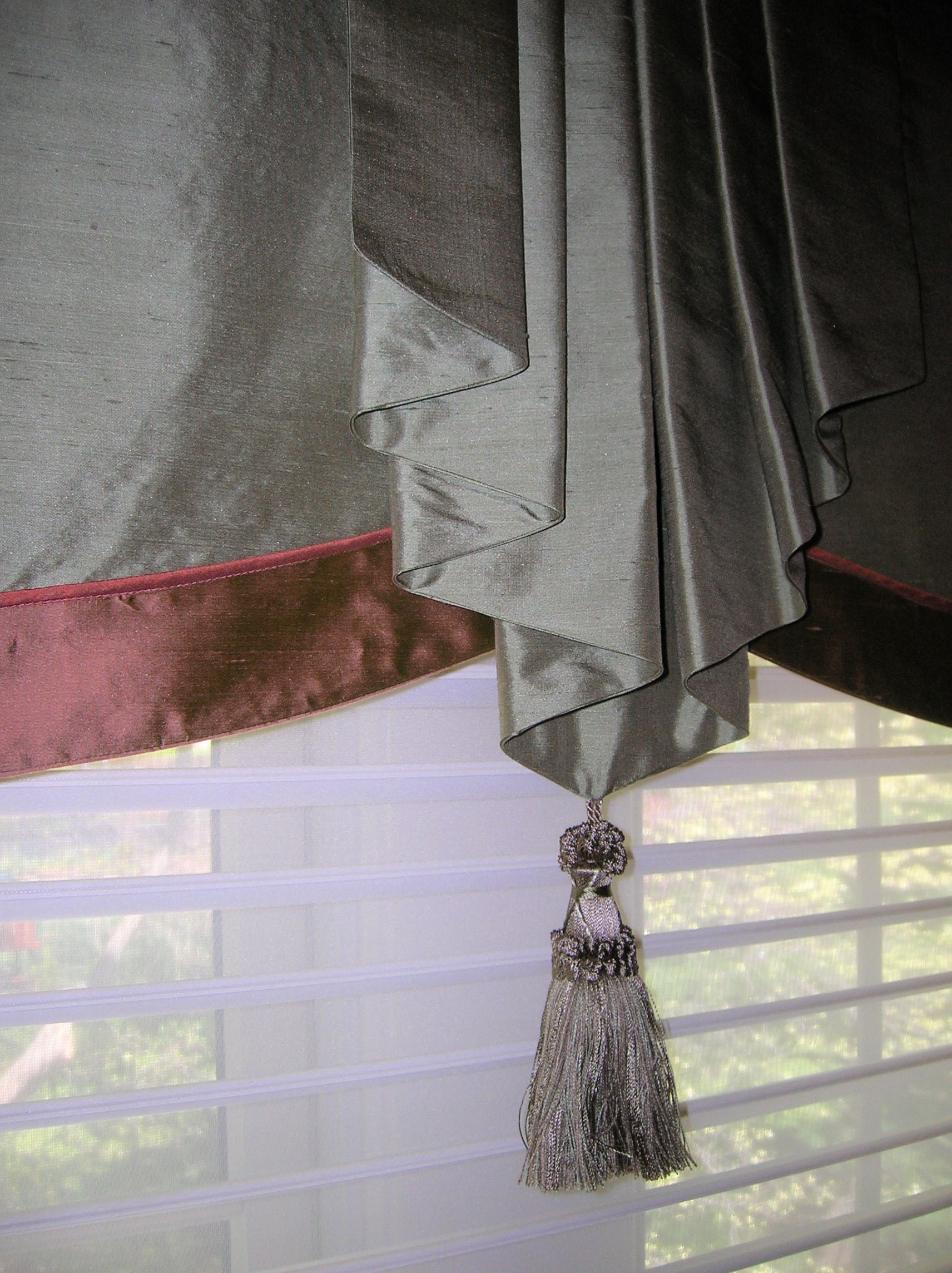 Classic custom design drapery