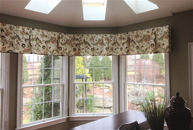 A classic example of custom drapery from dePasquale Design