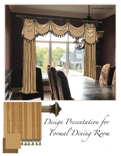Experience a wonderful design presentation from our lead designer Cindy dePasquale.