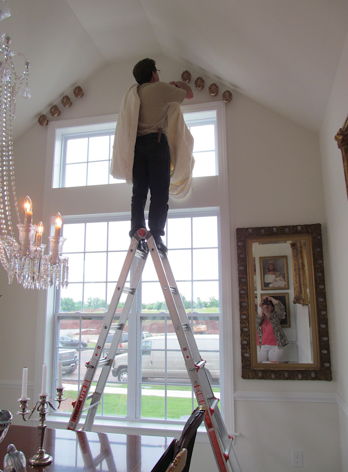 An installation work in progress from dePasquale Design