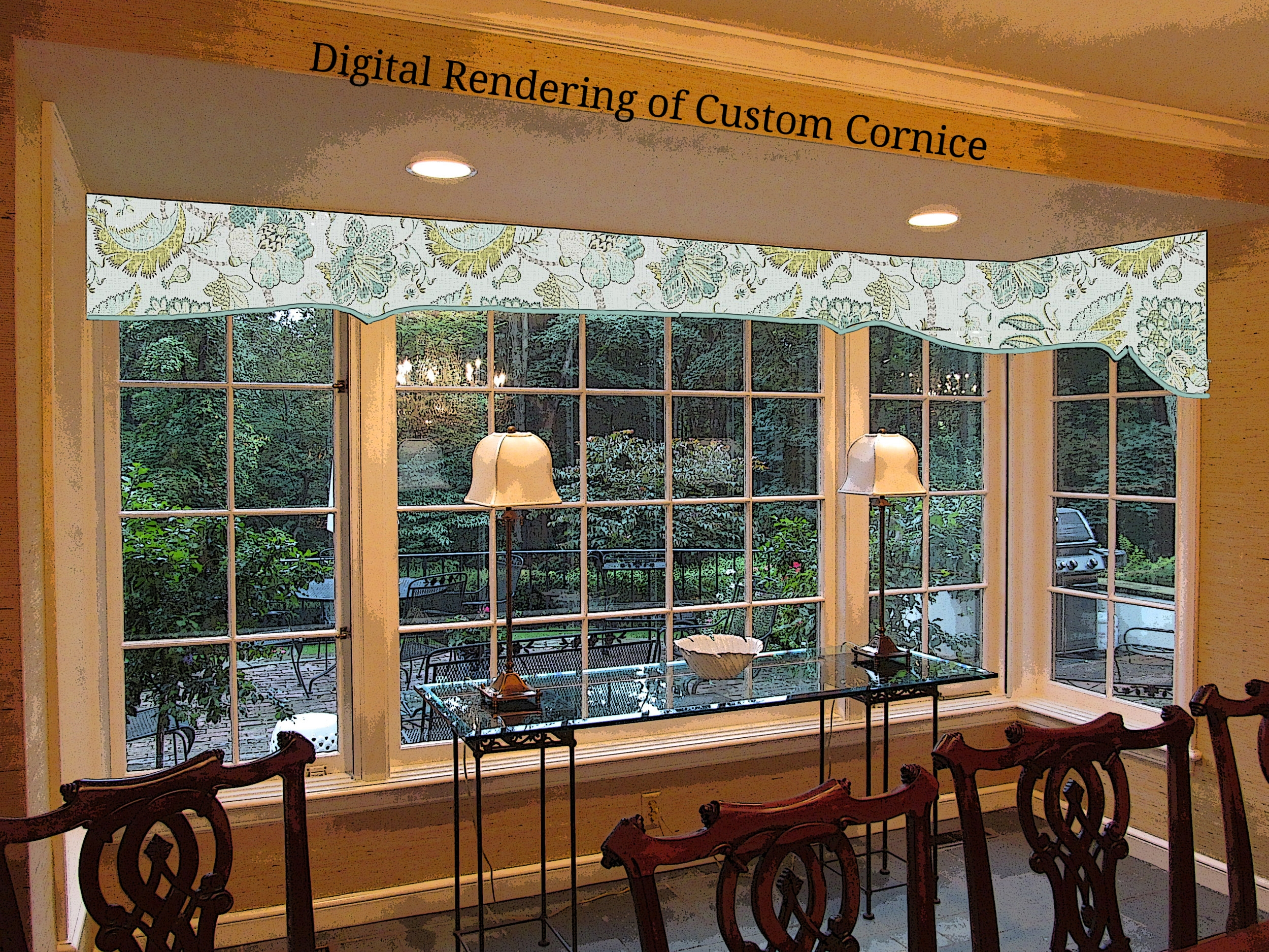 Custom Window Coverings and Drapery from dePasquale Design
