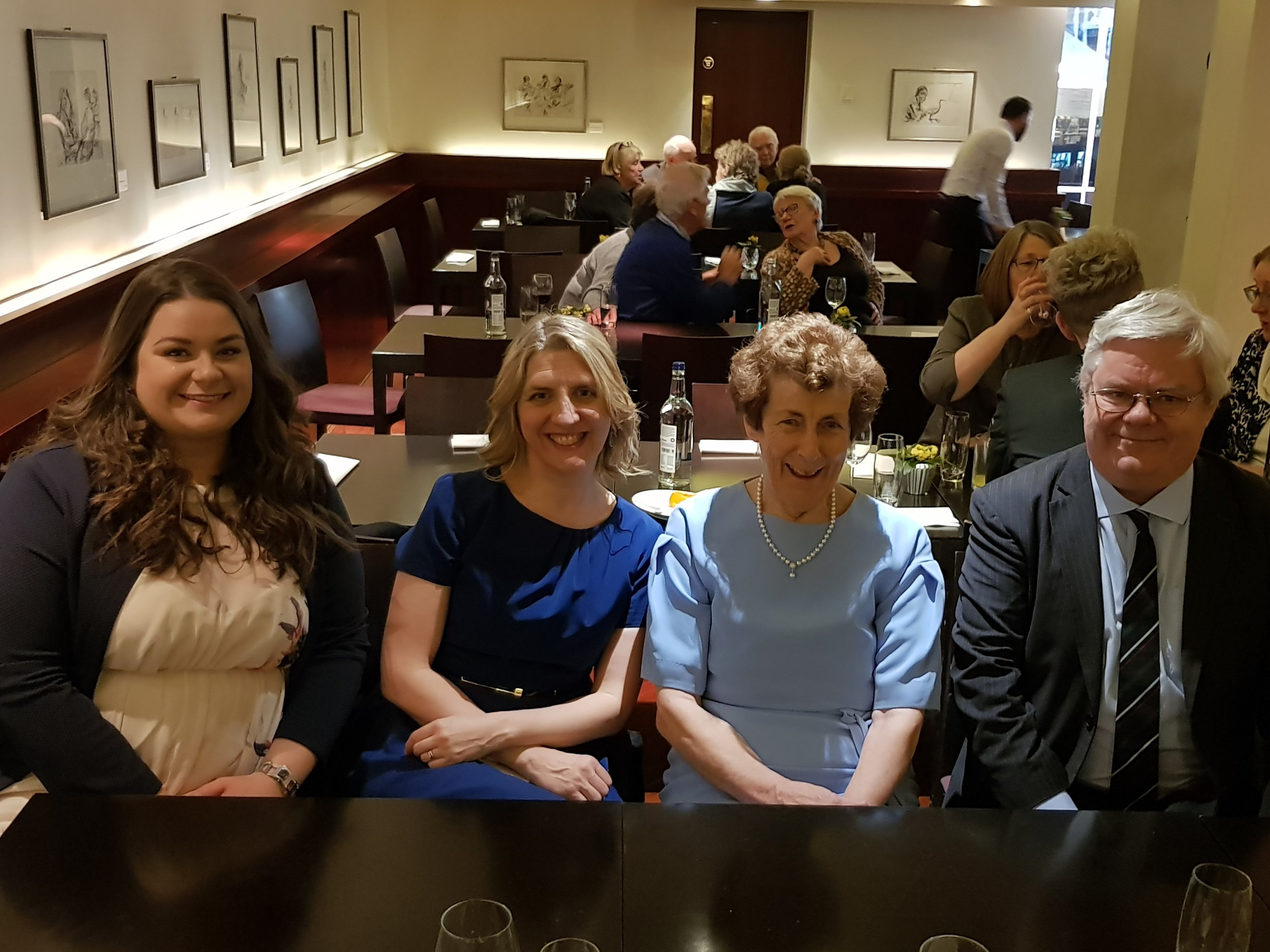 L-R: Emma O'Keeffe, Dearbhla Collins, Dr Ita Beausang, Dr Kerry Houston.