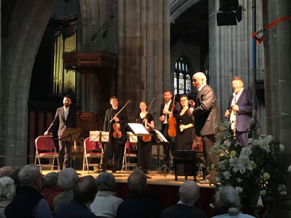The Carice Singers, St Lawrence's Church, Ludlow.