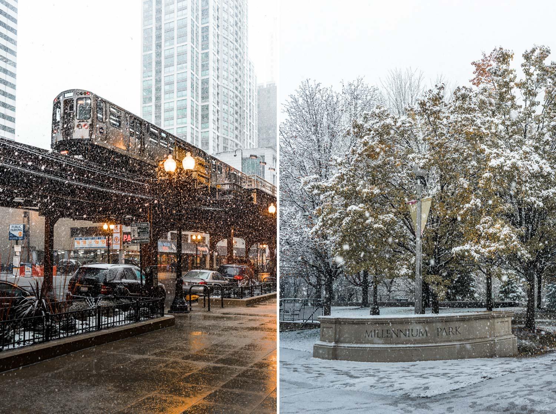 Millenium park nieve