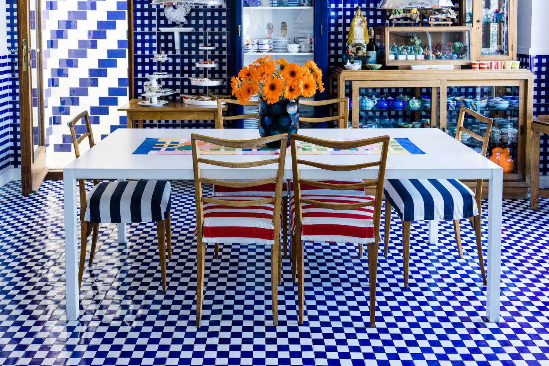 Cocina en hotel La Minervetta en Sorrento