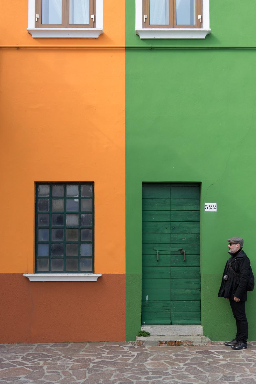 fachadas de Burano