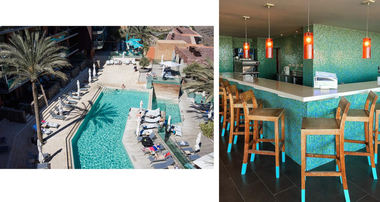 piscina y bar hotel Sheraton Gran Canaria