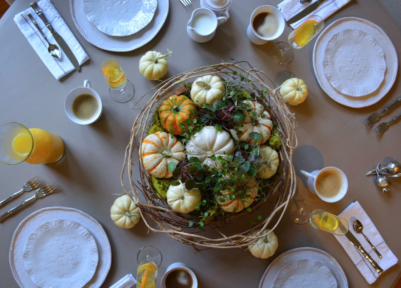 Tablescape // Autumn Brinner Party