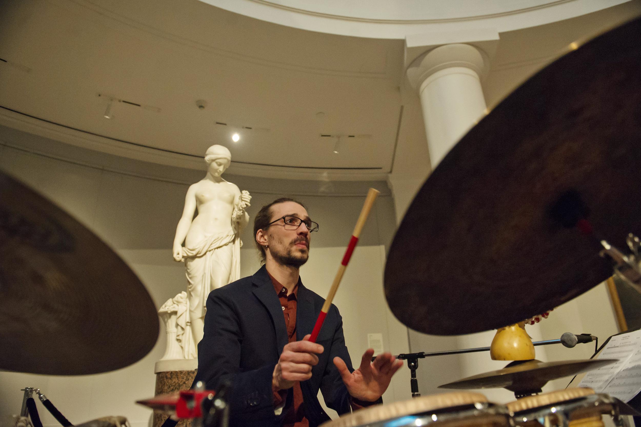 Mark Stone Trio at the University of Michigan Museum of Art, 2014