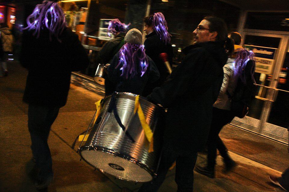 Vencedores samba street parade, 2014