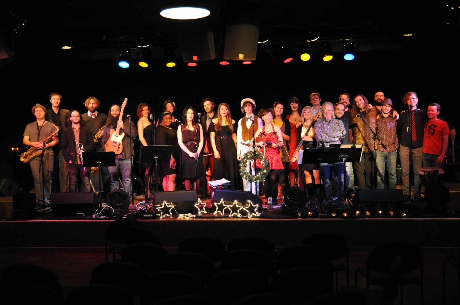 Ebird & Friends Holiday Show 2012, The Ark, Ann Arbor MI