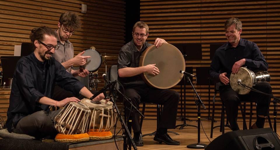 Performing Saidi Swing with Mike List, Shane Jones, and Joseph Gramley, April 2015