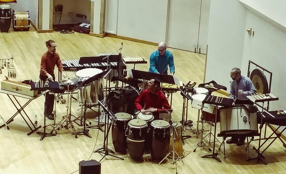 Ensemble Duniya performing at the University of Wisconsin - Madison, January 2016.