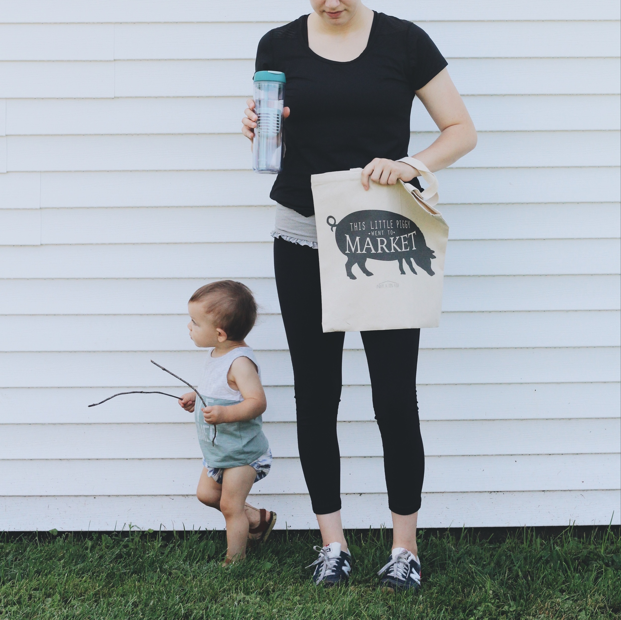 To Go Infuser  c/o   Aladdin   |  Leggings  -  Albion Fit  | Sneakers -  New Balance