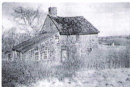 This is a drawing of Deacon John Hall III's home in Maine.