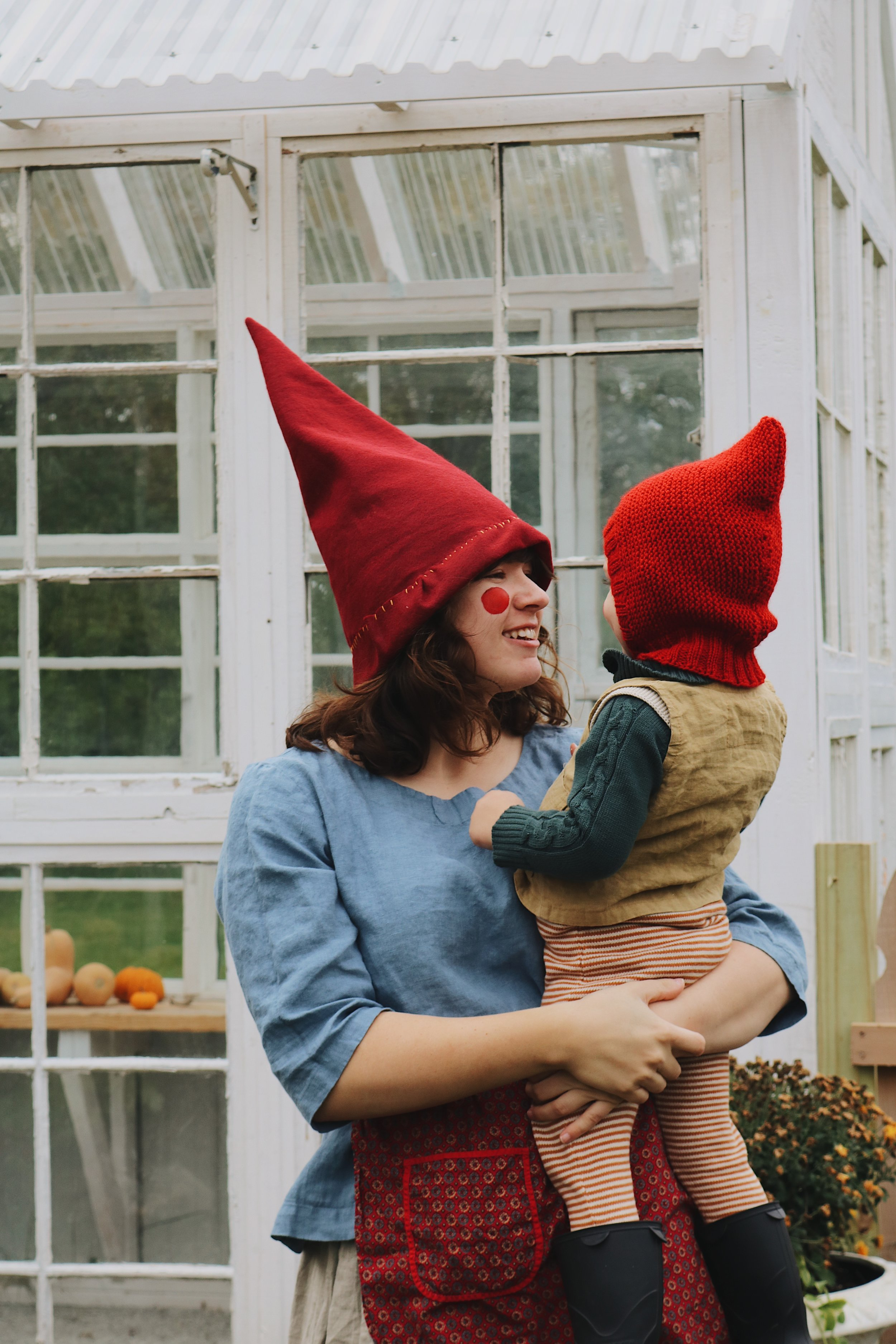 A Tale of Two Gnomes... Our Halloween Costumes 2017! - Under A Tin Roof Blog