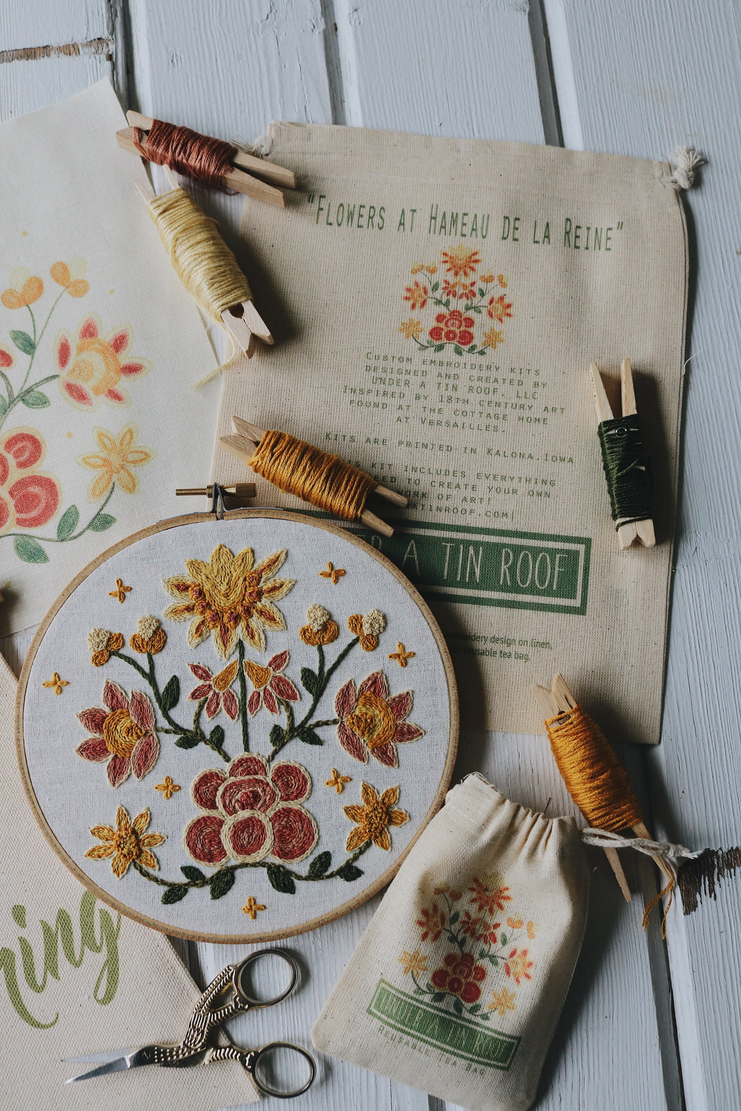 UATR Embroidery Club | November Introduction - Under A Tin Roof Blog