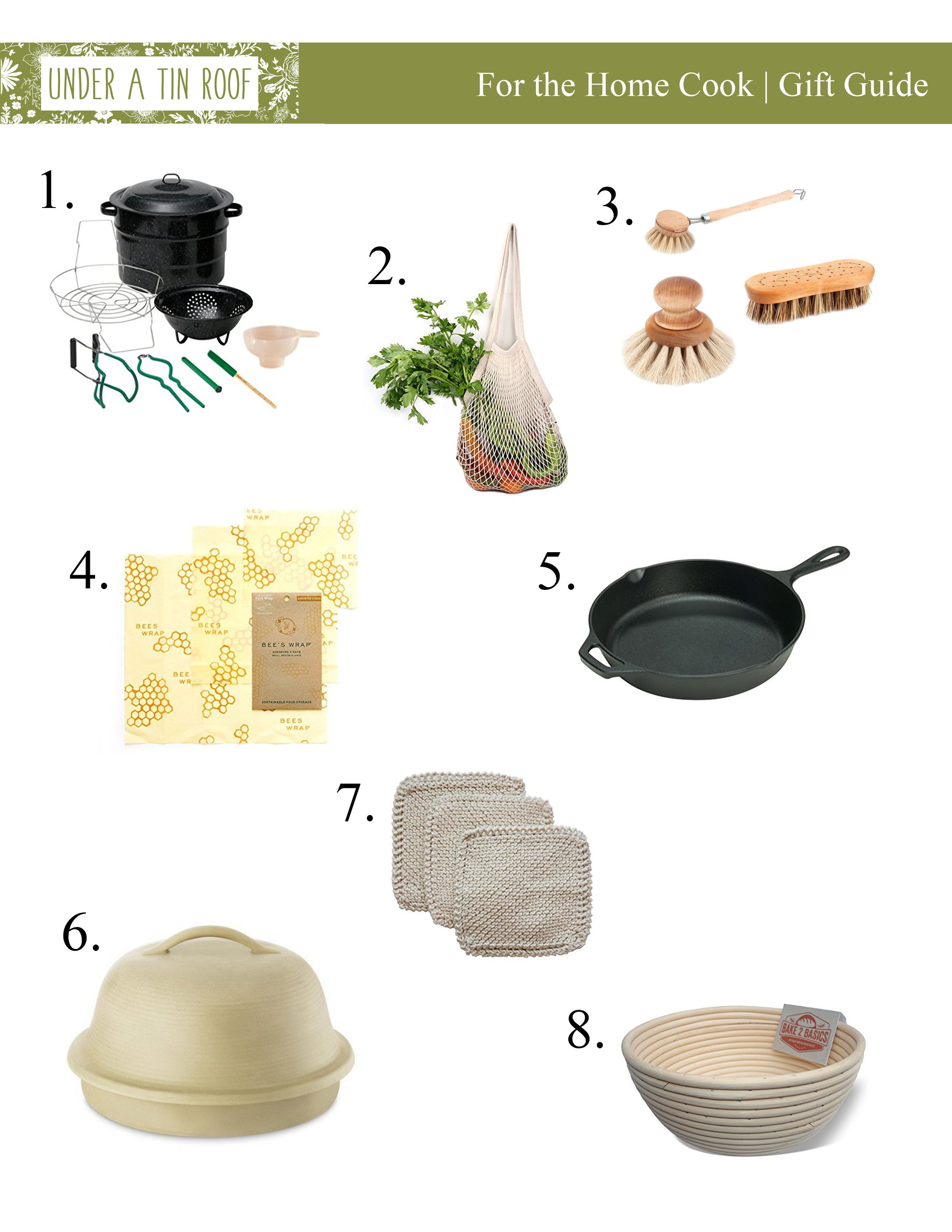 Gifts for the Home Cook - Under A Tin Roof Blog