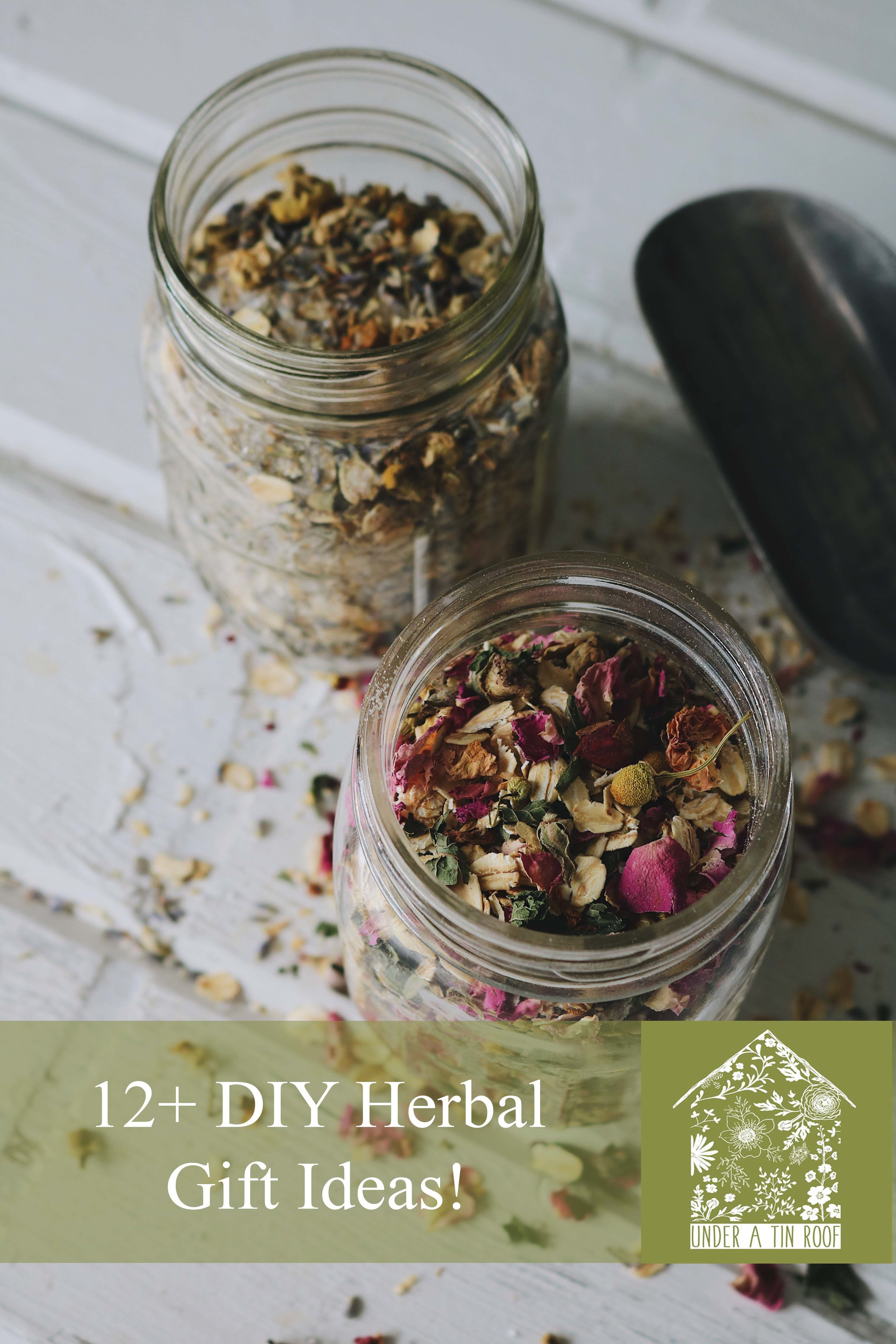 Herbal Interests | Our Favorite Handmade Herbal Gifts - Under A Tin Roof Blog