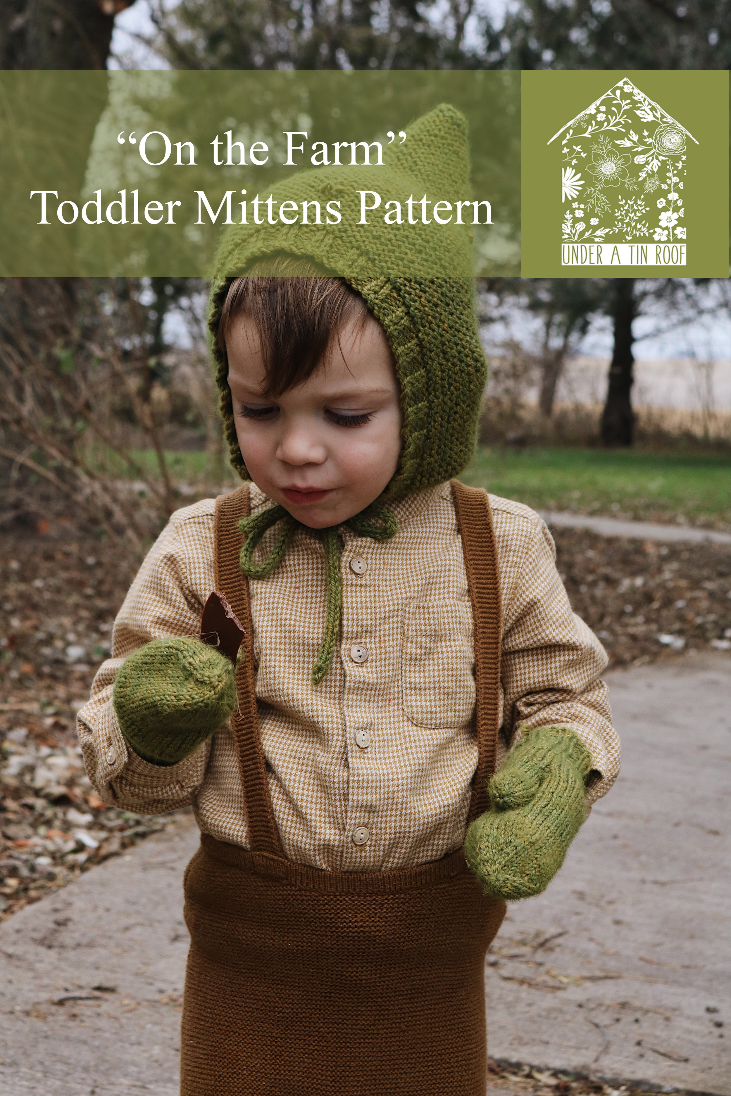 """""""On the Farm"""" Toddler Gloves Knitting Pattern - Under A Tin Roof Blog"""