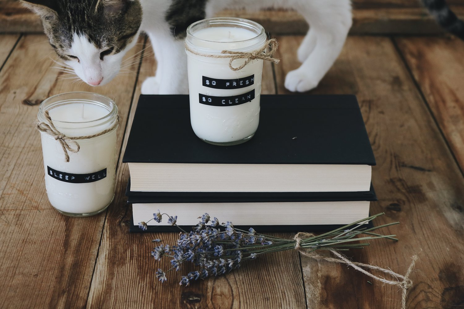DIY Essential Oil Soy Candles