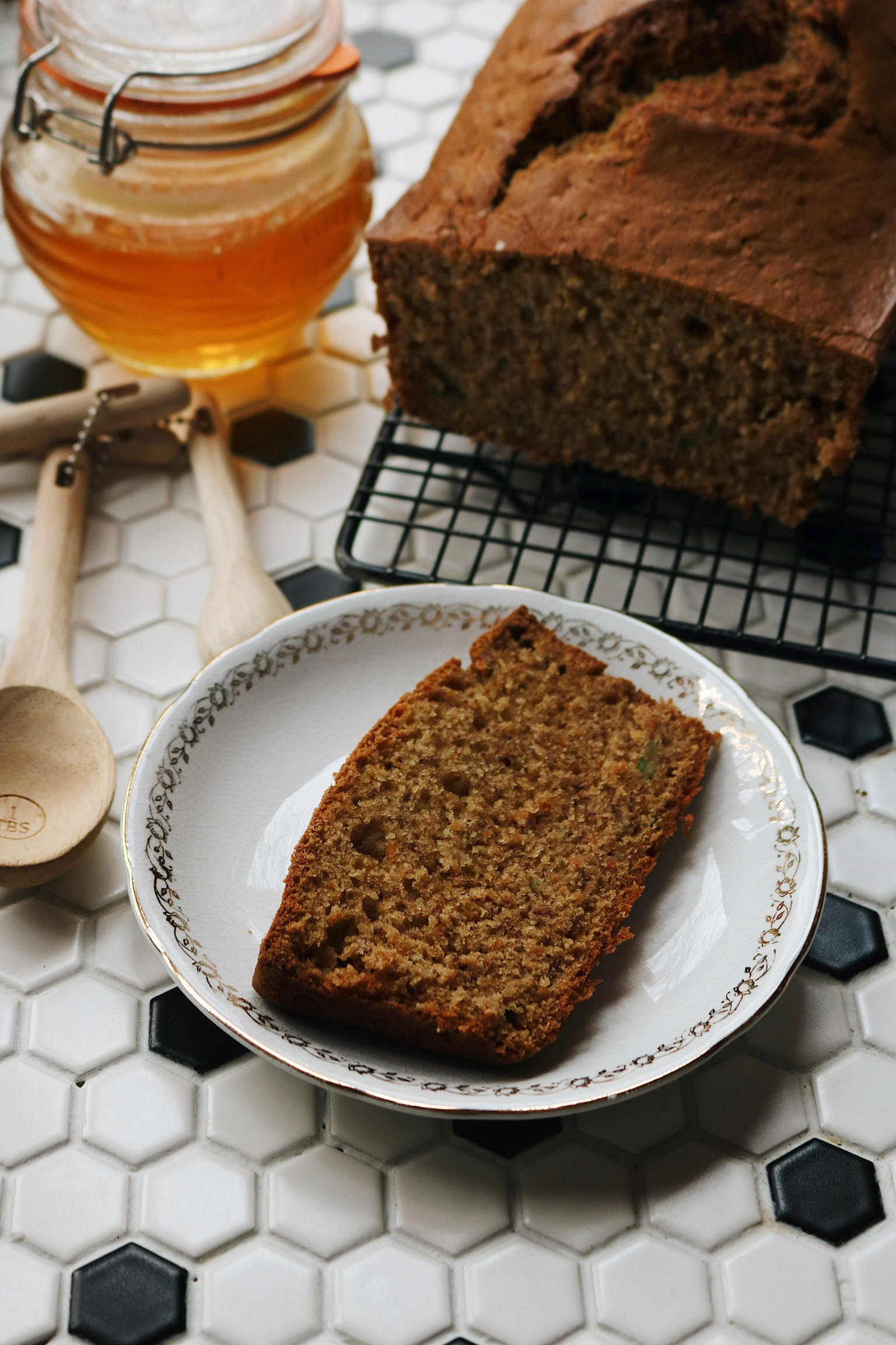 Banana Zucchini Carrot Bread - Under A Tin Roof Blog