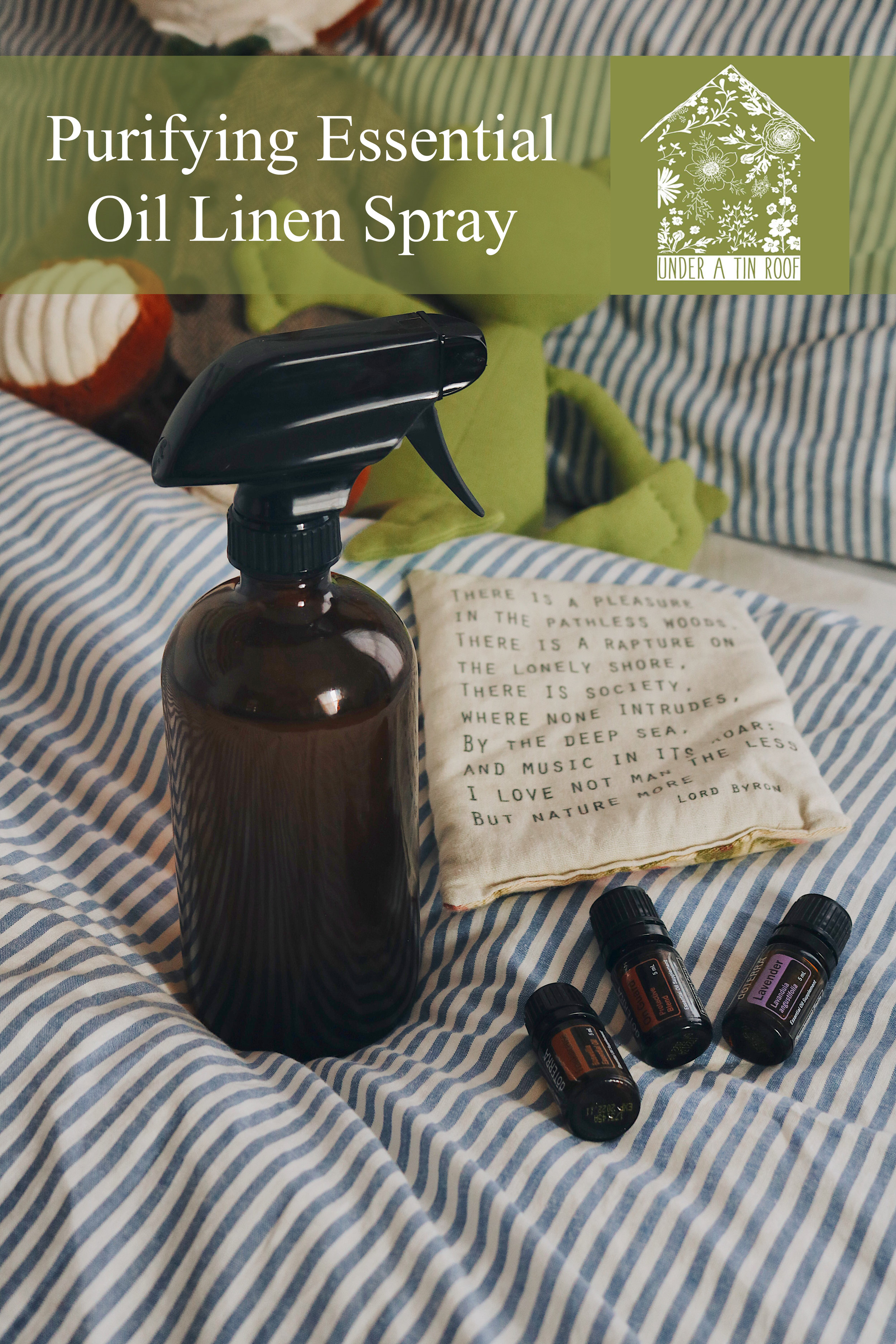 Herbal Interests | Essential Oil Purifying Linen Spray