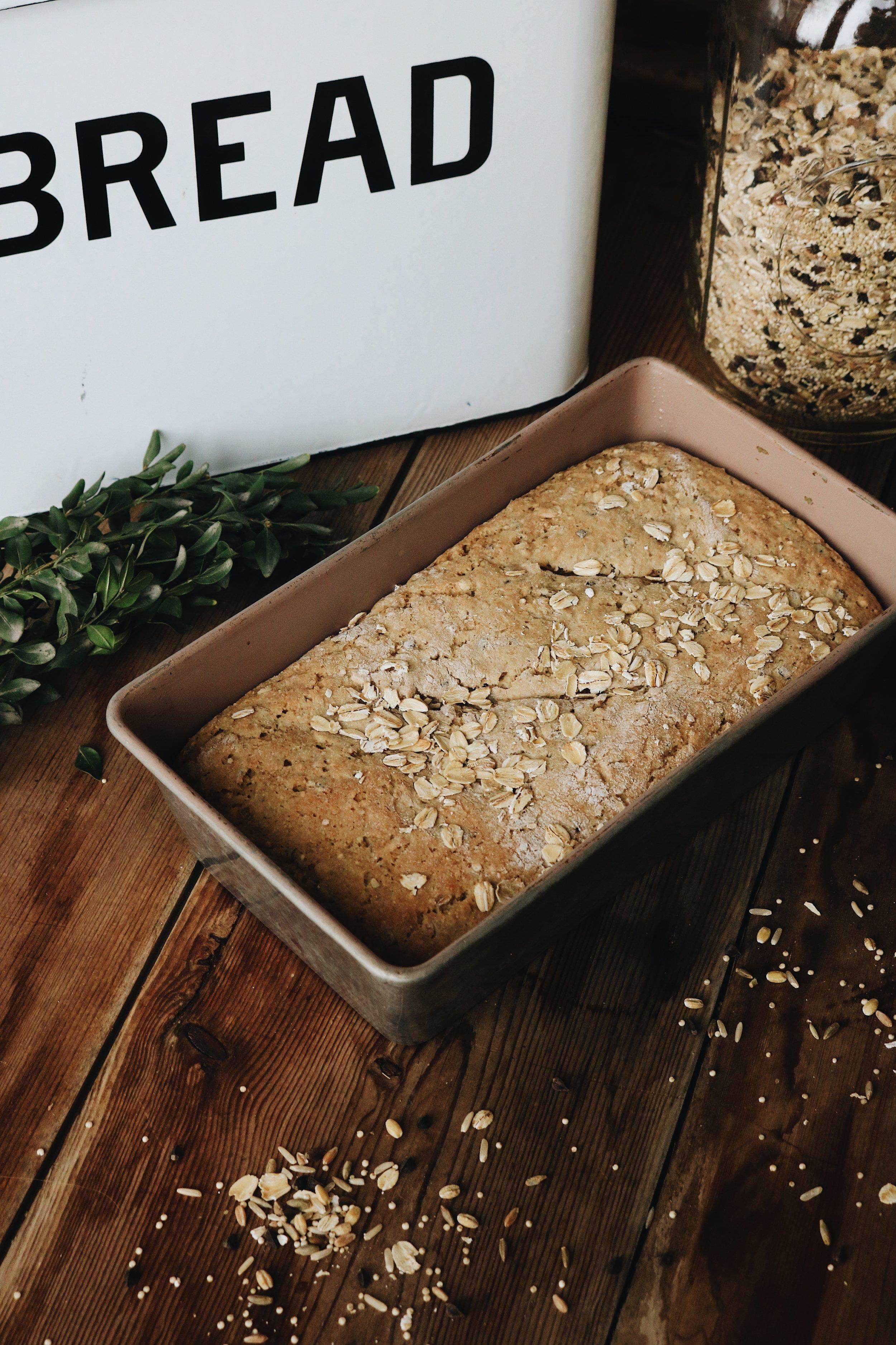 Ancient Multi Grain Bread - Under A Tin Roof Blog