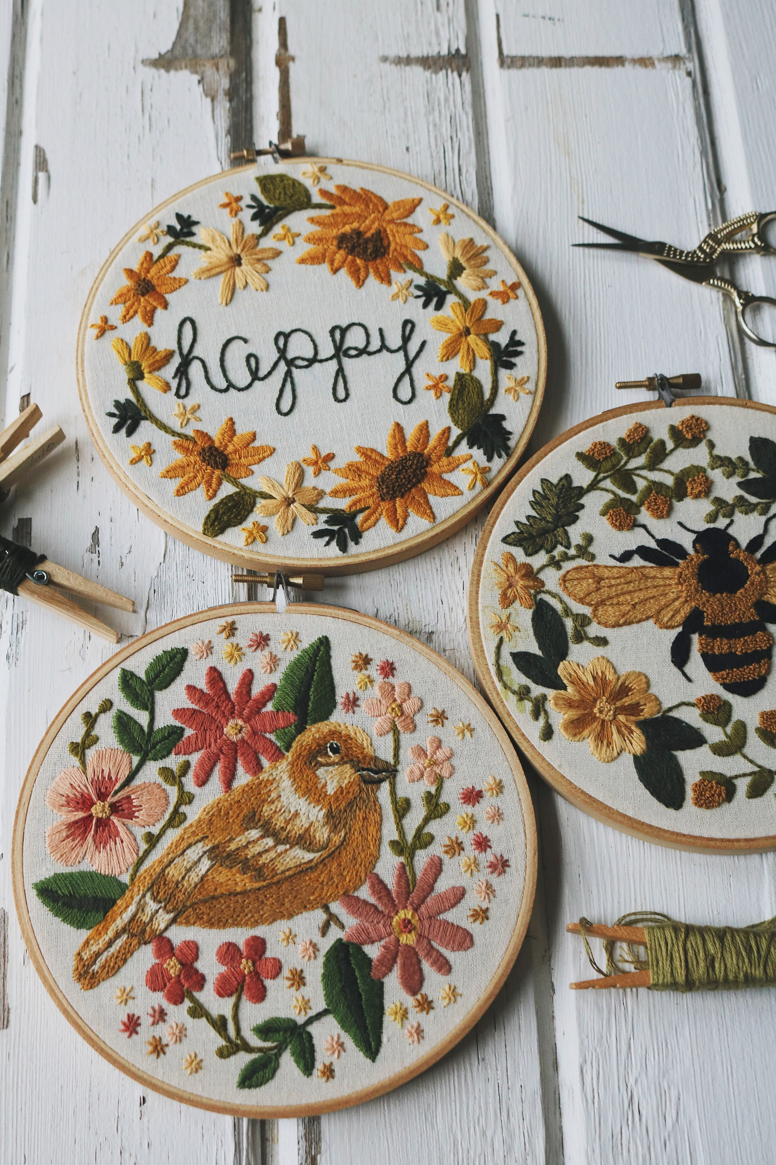 Embroidery Club is Coming to A Close... For Now!